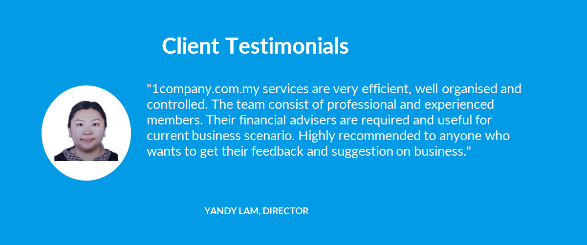 Client Testimonials - 03 Yandy Lam, Director - 1company